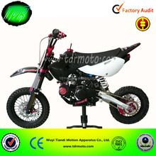 powerful off road kick start pit bike
