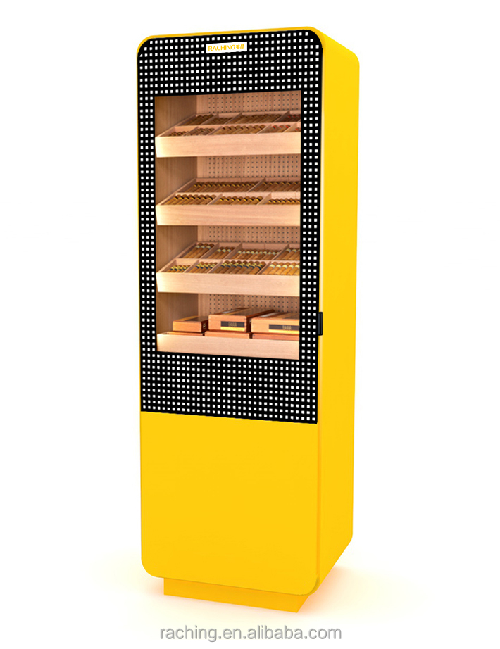 Moisturizing electrical humidity control cigar humidor cigar cabinet