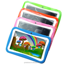 7 Inch New Kids learning Tablet Pc Android System Quad Core Installed Best gifts for Children Tablets Pc