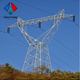 power transmission line tower,transmission lattice tower,400kv transmission line towers
