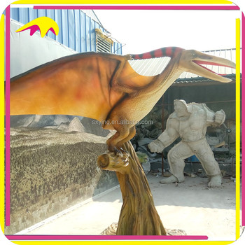 KANO4891 Theme Park Animated Life-Size Flying Pterosaur Dinosaur
