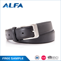 Alfa Wholesale China Goods Custom Designer Dress Leather Belt Men
