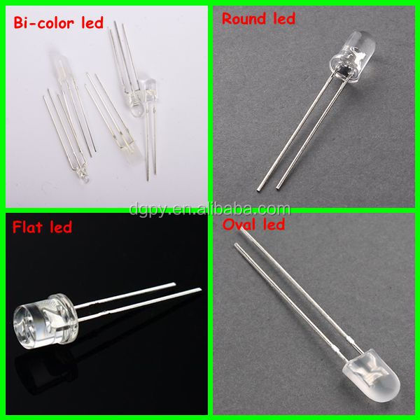 Factory Price Super Bright LED Diode 3mm 5mm LED Light Emitting Diodes for sale