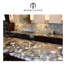 Custom design Villa Natural Agate Countertop