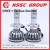 Car accessory Canbus CREE LED headlight bulbs h4 H7 6v to replace xenon kit