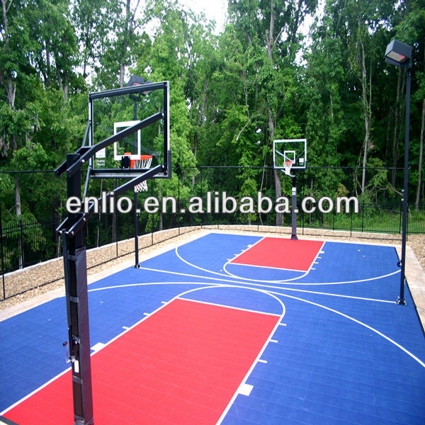 Sports Event Multi purpose plastic outdoor basketball court flooring