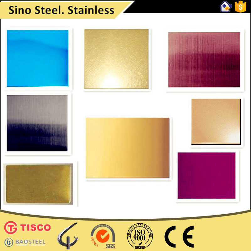 Satin brushed No.4 finish stainless steel plate for building cladding