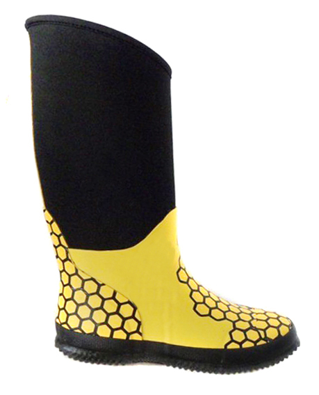 Rain Boot Nice Woman Yellow Neoprene Rubber Rain Boots Latex Fashion Thigh High Fashion Waterproof 2017 China Supplier D141
