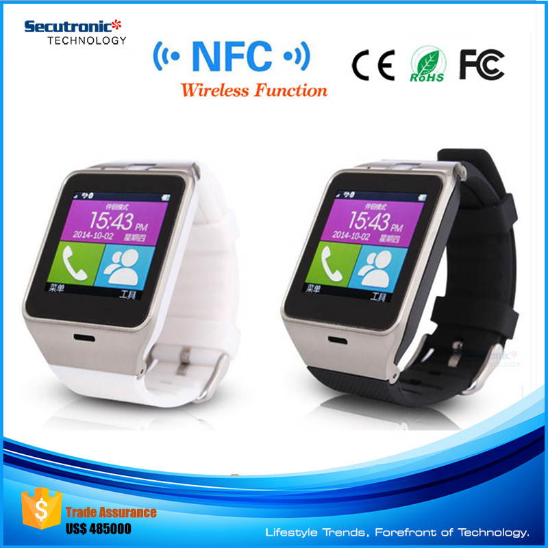 Alibaba Com in Russian Language Bluetooth GSM GV18 Smart Watch Android Phone with Nfc Wifi Bluetooth