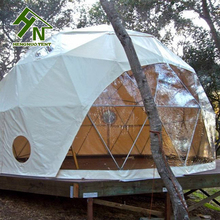 2017 New Design Geodesic Dome Shape Garden Green House For Sale