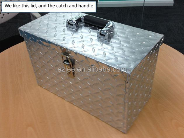 aluminum garden tool box,waterproof tool box