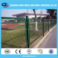 black welded wire fence mesh panel dog kennel fence panel