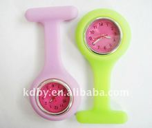 Waterproof silicon rubber nurse watch