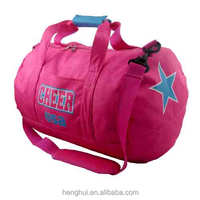 Personalized Girls Sport Athlete Basketball Player pink sport dance duffel bag