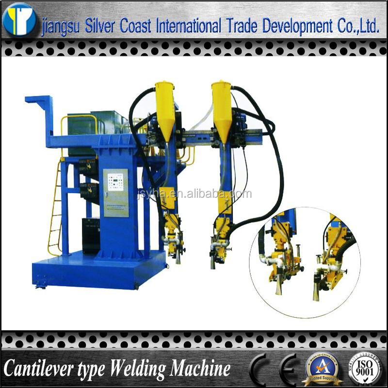 H beam Single Cantilever type Electro slag Welding Machine with Two Head