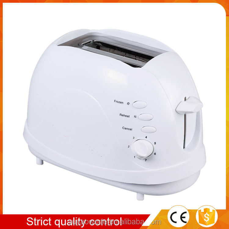 hot sale 2 slice long slot toaster