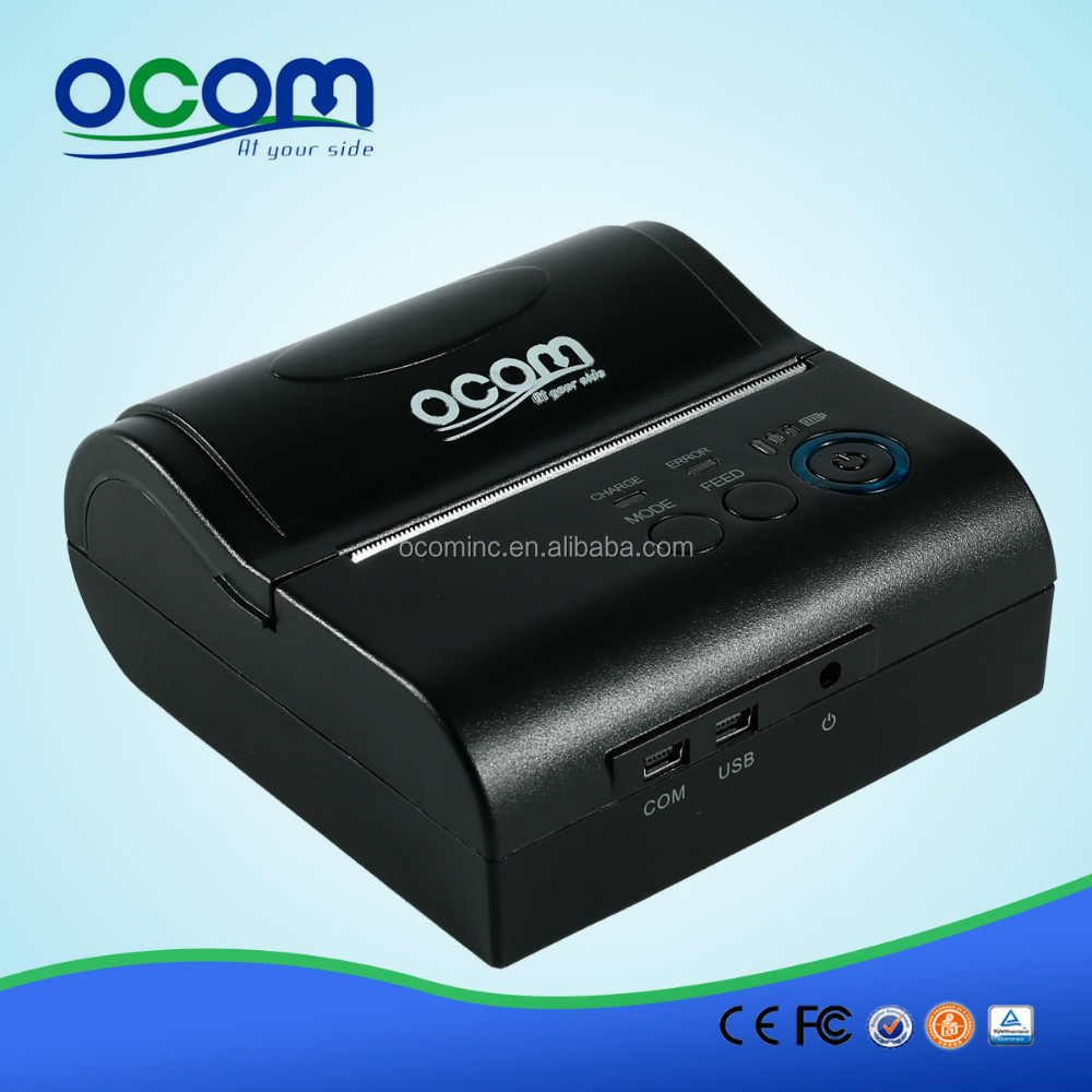OCPP-M082------80mm 3Inch Label Printer Mobile Phone Sticker Printer With RS232 and USB Ports For Android Windows Mobile