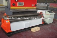 W11-20X3000 3 Rollers Mechanical Metal Rolling Machine, 3 rolls small sheet roller bending machine, lettering machine