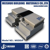 Floor epdm expansion joint cover in metal building material