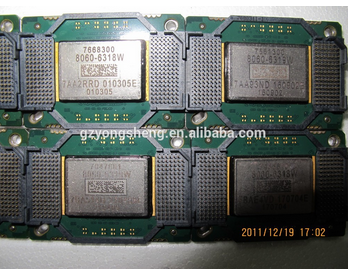 Projector DMD Chips 1076-6318W/1076-6319W/1076-6328W/1076-6329W spare parts