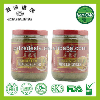 Minced Ginger Crushed Ginger Seasoning & Dipping Sauce
