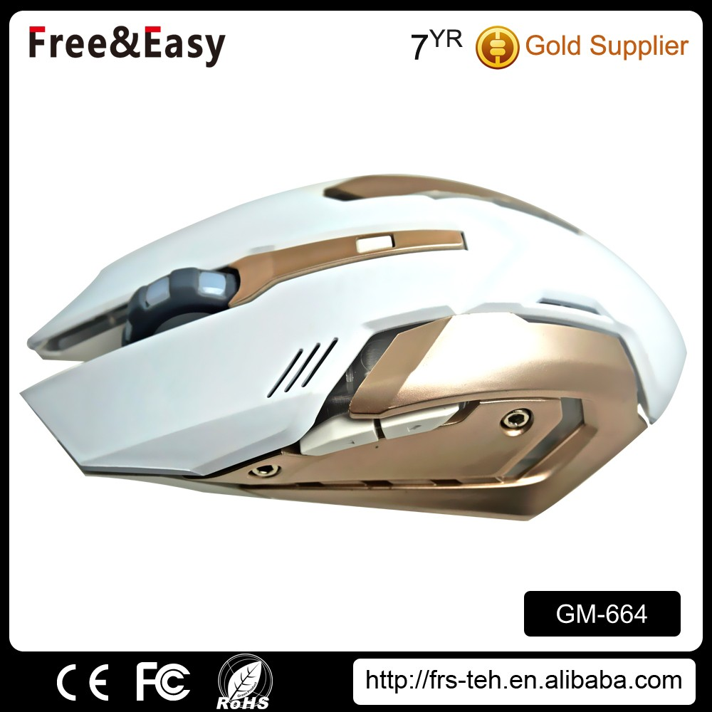 Cool design 6D wired drivers usb optical gaming mouse