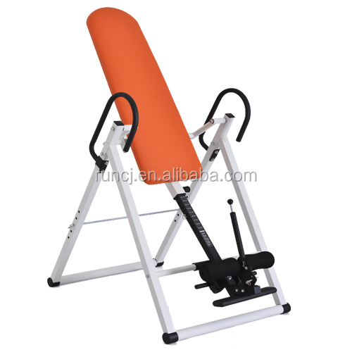 CJ-6102 Inversion Back Therapy Folding Pain Relief Exercise Table Chair Hang Upside Down