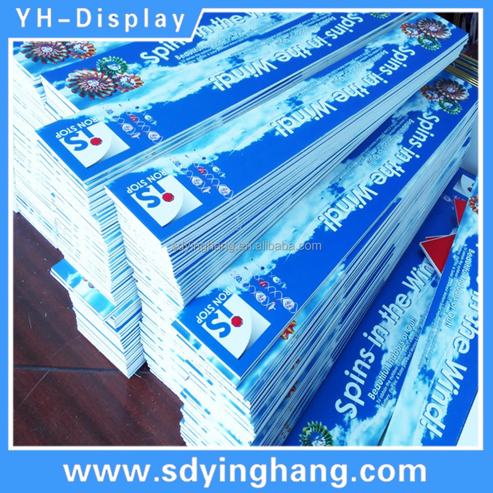 Customized full color print advertisement board