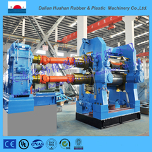 2016 Dalian HUAHAN vertical rubber two roll calendering machine 710*2130