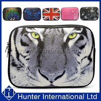 Customized Leopard Design For iPad Neoprene Pouch