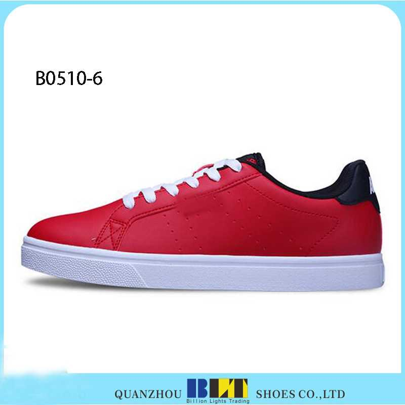 2016 fashion men shoes casual sneakers genuine leather sqeaky shoes