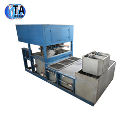 poultry farm China New Economical paper pulp modling Egg tray/plate/carton machine / high efficiency egg tray / fulong