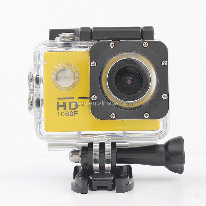 1080P HD Wearable Sports Action Camera with Wifi Support Waterproof