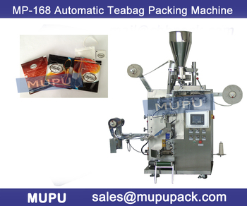 Automatic tea-bag inner and outer bag packing machine