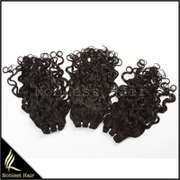 top quality brazilian curl virgin european hair curly 100% human hair weave for wholesale