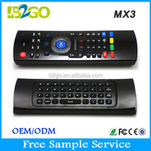 2.4G Wireless Mini Keyboard MX3 air mouse keyboard xxx arab 2.4g air mouse
