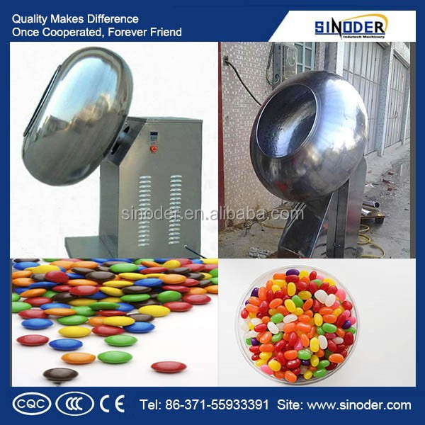 Snack food sugar glazing machine, Sugar Coat Machine , tablet coating machine