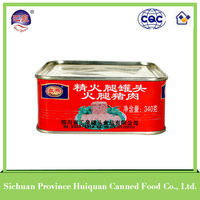 wholesale china trade halal luncheon meat