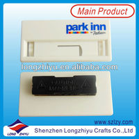 Buy abs platic name badge /custom ABS employee name plate in China ...