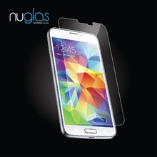 Nuglas Smart Phone Screen Protector for Samsung Galaxy S5 Tempered Glass