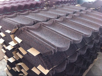 Dingzhen Coated Natural Sand Roofing Tiles Ceramic Roof tile