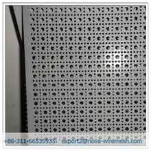 Round square hole for galvanized perforated metal panel with high quality and best price