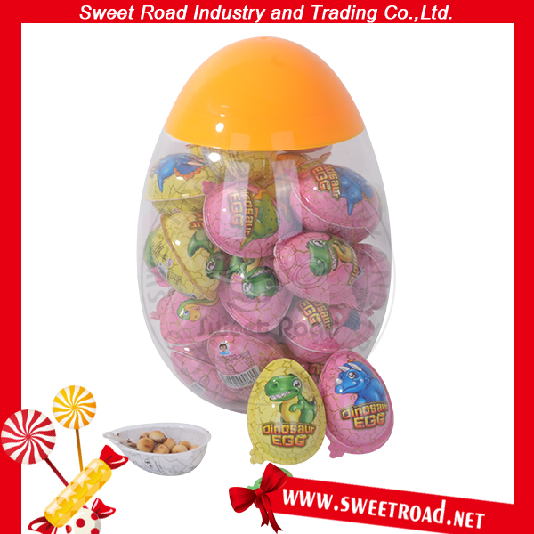 China Sweet Surprise Chocolate Dinosaur Easter Egg