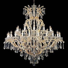 wholesale Maria Theresa Style Candle Lights Silver wedding banquet event lighting Crystal Chandelier
