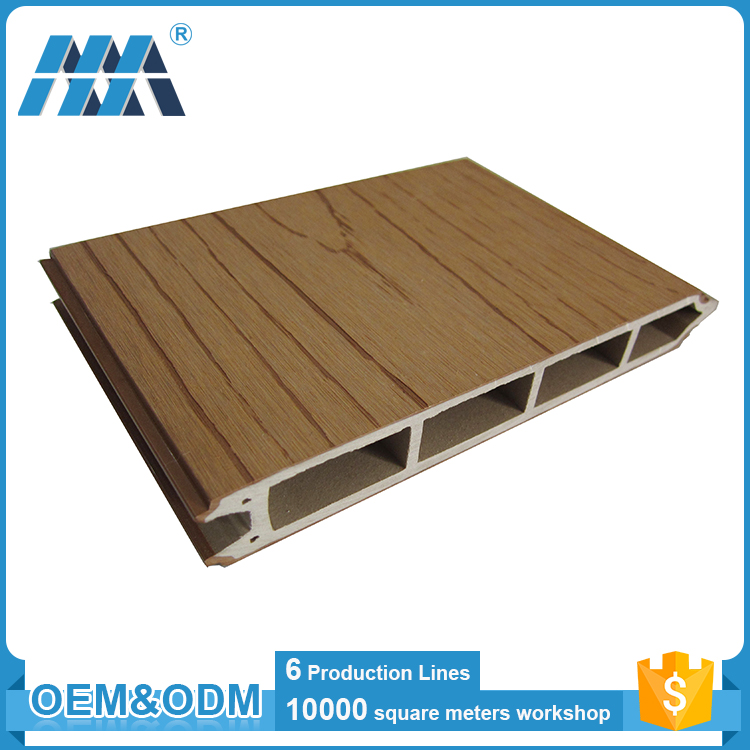 WPC exterior cladding panel better than metal exterior wall cladding