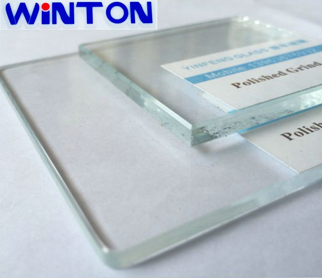 Tempered laminated safety glass 6mm