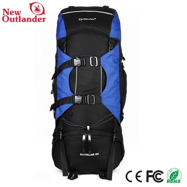 80L 600d brand mountaineering hiking bag