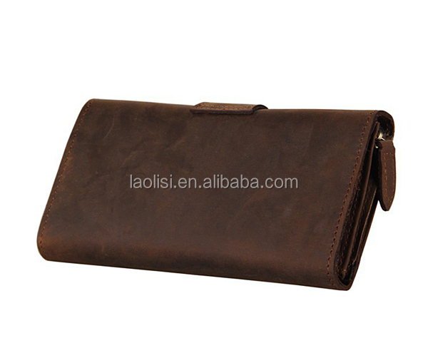 Leather wallet manufacturer from Guangzhou China