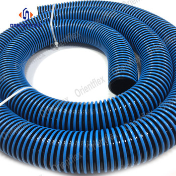 Plastic flexible 25 30 35 50 foot 2 inch pool hose ends