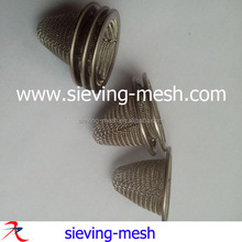 Stainless steel wire mesh filter caps/ss mesh screen strainer/basket/bowl factory